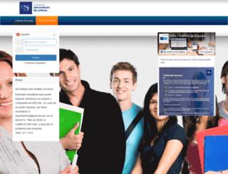 moodle.usil.edu.pe screenshot