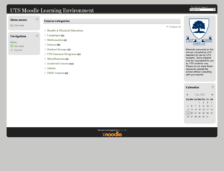 moodle.utschools.ca screenshot