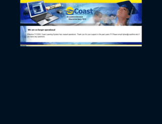 moodle2.coastlinelive.com screenshot