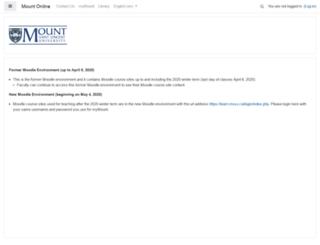 moodle233.msvu.ca screenshot