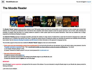 moodlereader.org screenshot