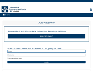 moodleufv.ufv.es screenshot