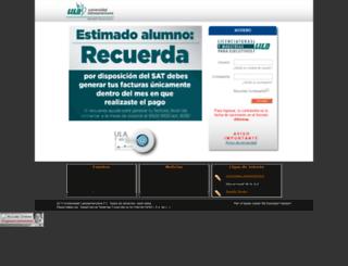 moodlewa3.ula.edu.mx screenshot