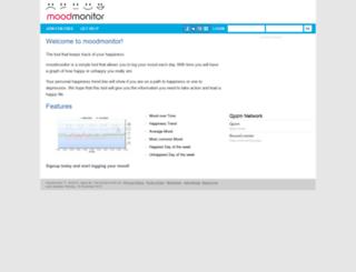 moodmonitor.com.au screenshot