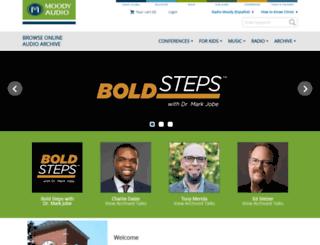 moodyaudio.com screenshot