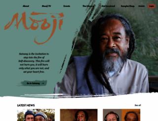 mooji.org screenshot