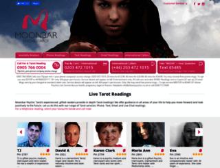 moonbar.co.uk screenshot