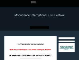moondancefilmfestival.com screenshot