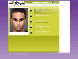 moonjee.com screenshot