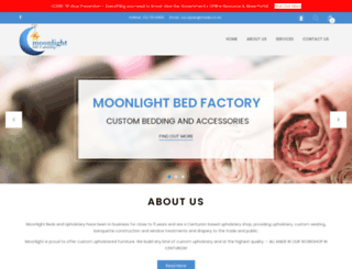 moonlightbedding.co.za screenshot