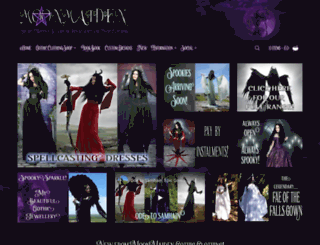 moonmaiden-gothic-clothing.co.uk screenshot
