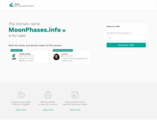 moonphases.info screenshot
