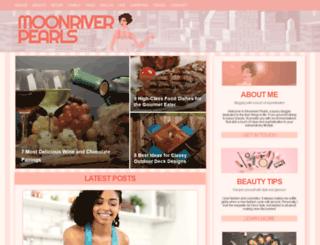 moonriverpearls.com screenshot