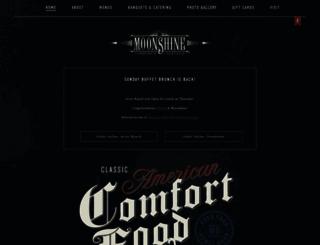 moonshinegrill.com screenshot