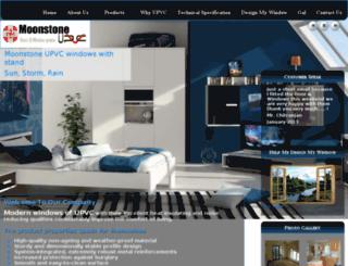 moonstoneupvc.com screenshot