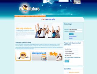 moontutors.com screenshot