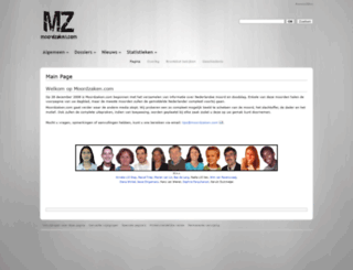 moordzaken.com screenshot