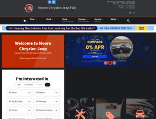 mooreauto.com screenshot