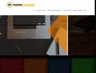 mooreconcepts.com screenshot