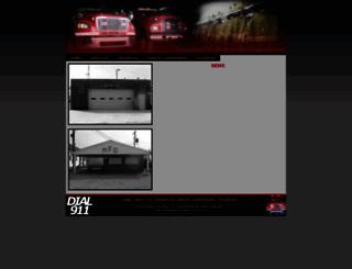 moorelandfire.com screenshot
