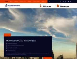 moores-rowland.com screenshot