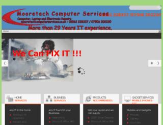 mooretechcomputerservices.co.uk screenshot