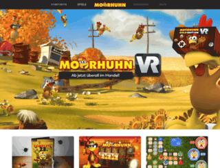 moorhuhn.com screenshot