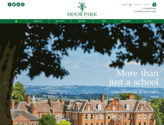 moorpark.org.uk screenshot