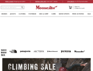 moosejaw.com screenshot