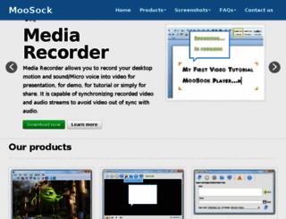 moosock.com screenshot
