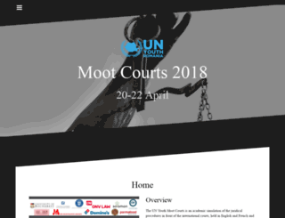 mootcourts.unyouth.ro screenshot