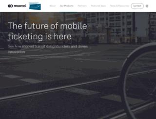 moovel-transit.com screenshot