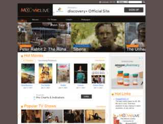moovielive.com screenshot