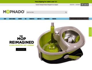 mopnado.myshopify.com screenshot