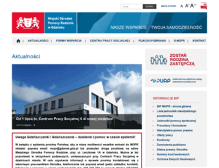 mopr.gda.pl screenshot