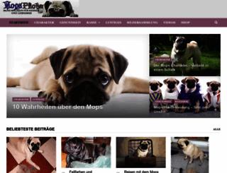 mops-pfote.de screenshot