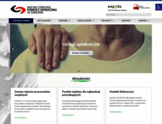 mops.gniezno.pl screenshot