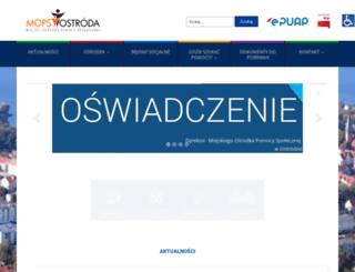 mops.ostroda.pl screenshot