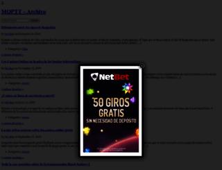 moptt.cl screenshot