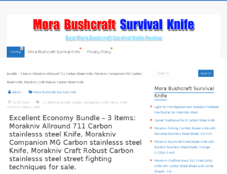 morabushcraft.com screenshot