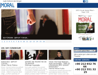 moraldunyasi.com screenshot