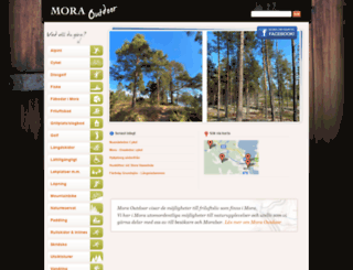 moraoutdoor.se screenshot