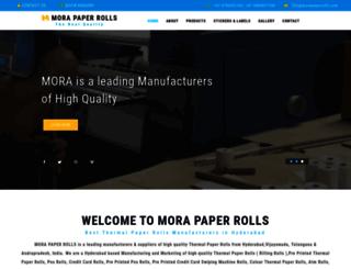 morapaperrolls.com screenshot