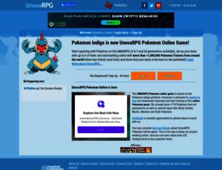 moravia.pokemonindigo.com screenshot