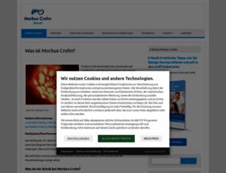 morbus-crohn-aktuell.de screenshot