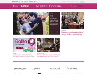 mordeeassopra.globo.com screenshot