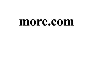 more.com screenshot