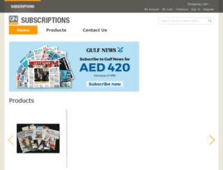 more.gulfnews.com screenshot