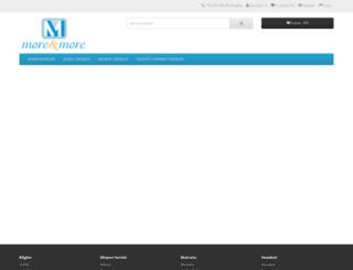 moreandmore.com.tr screenshot