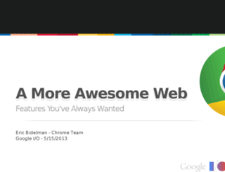 moreawesomeweb.com screenshot